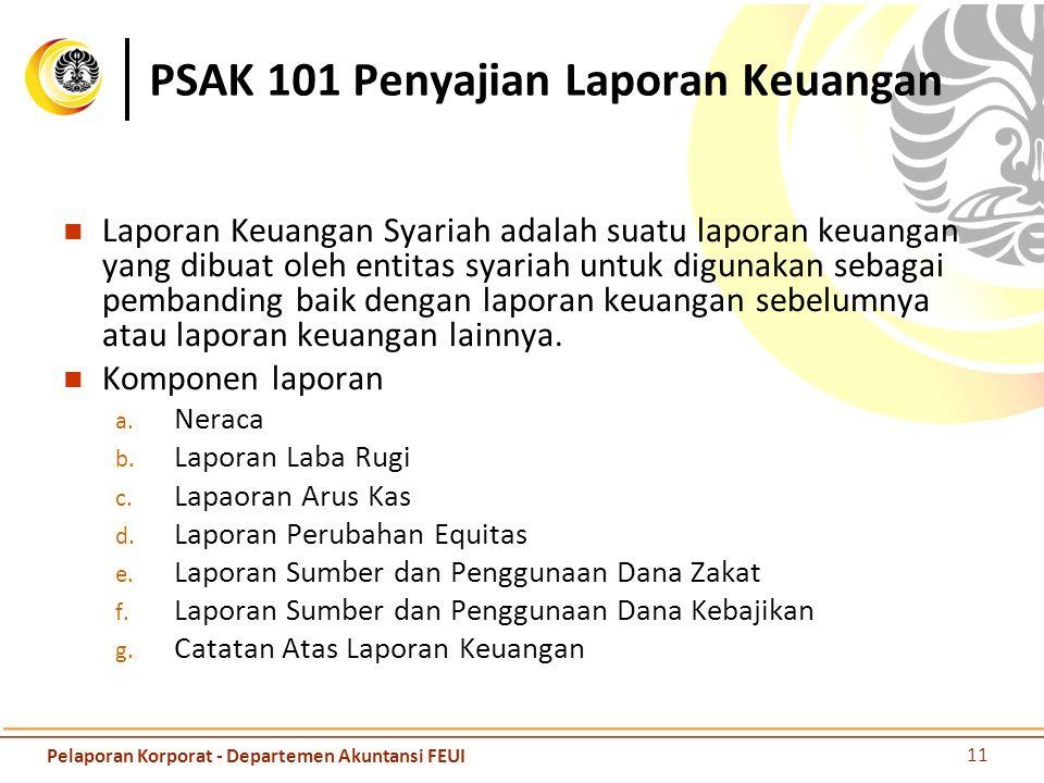 PSAK 101 Penyajian Laporan Keuangan