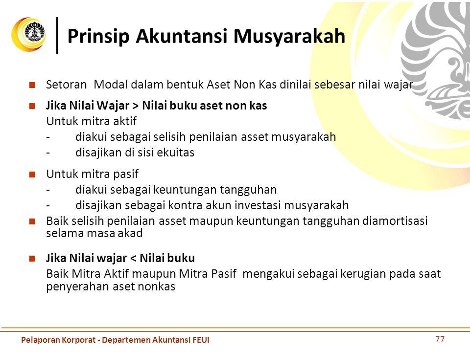 Prinsip Akuntansi Musyarakah
