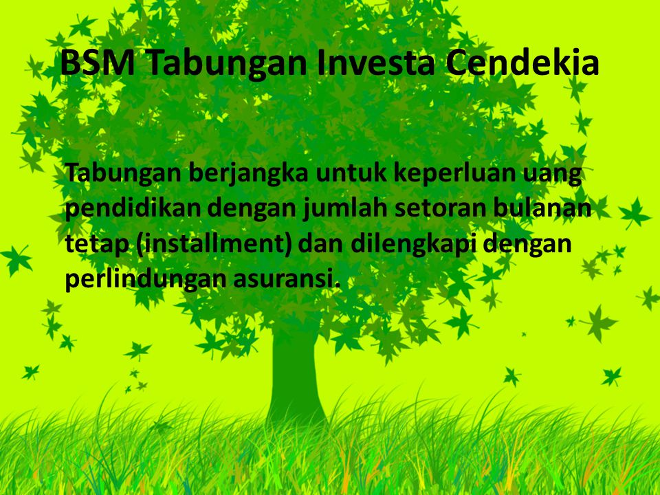 BSM Tabungan Investa Cendekia