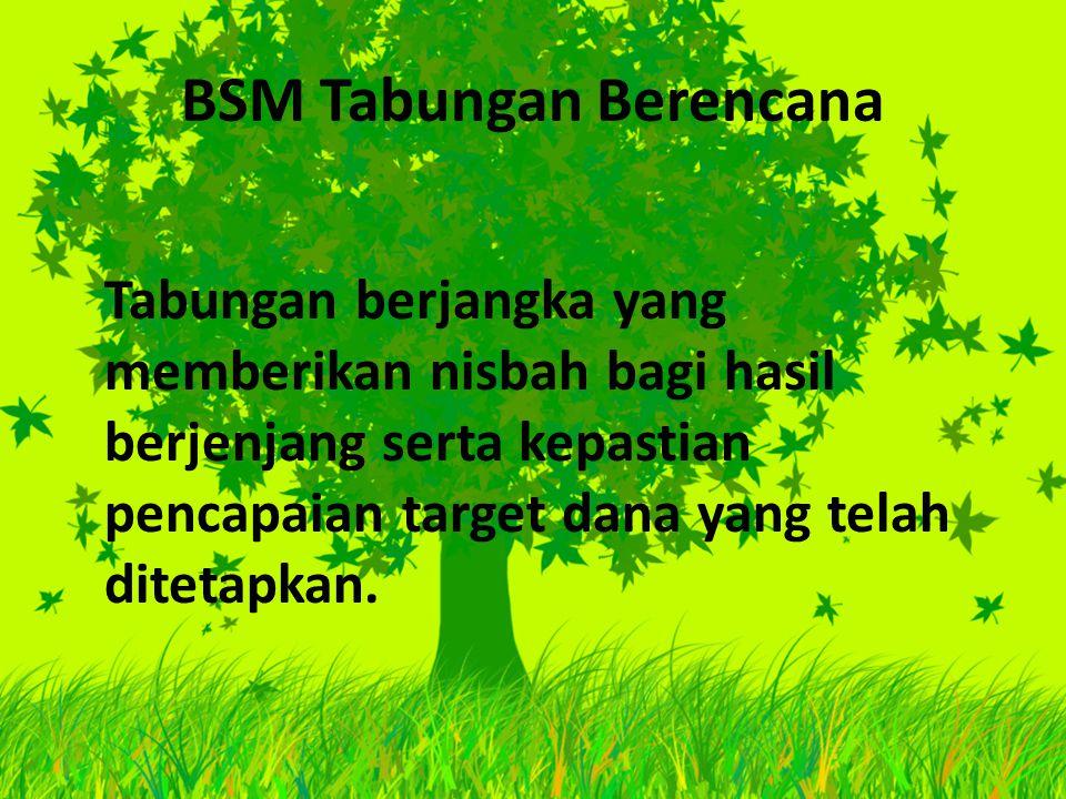 BSM Tabungan Berencana