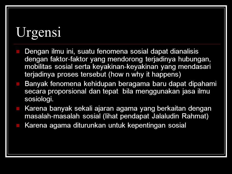 Urgensi
