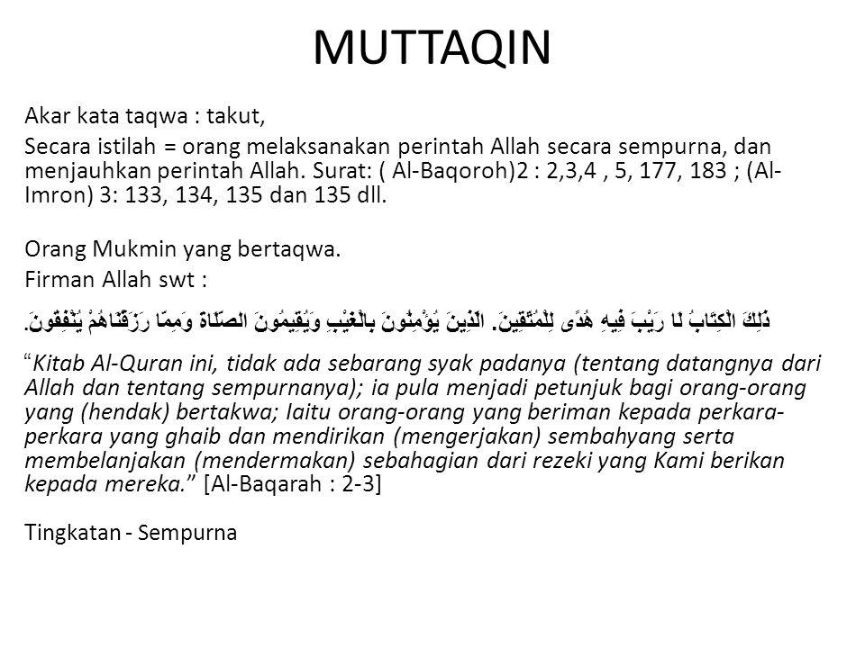 MUTTAQIN