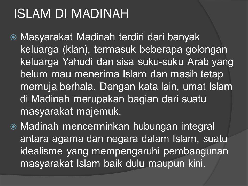 ISLAM DI MADINAH