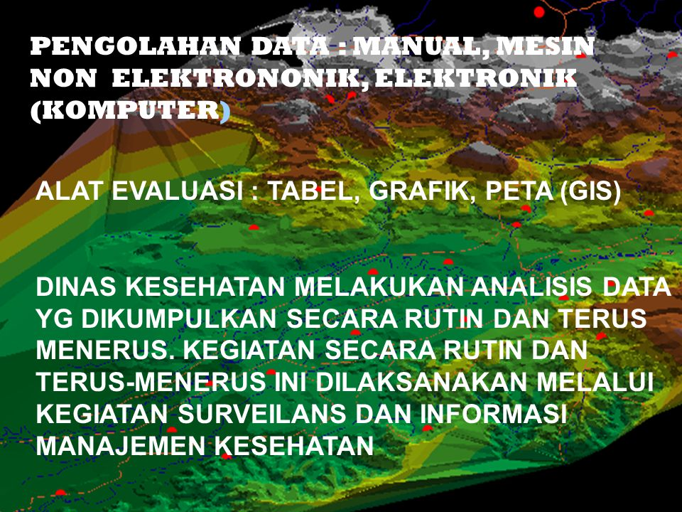 PENGOLAHAN DATA : MANUAL, MESIN NON ELEKTRONONIK, ELEKTRONIK (KOMPUTER)