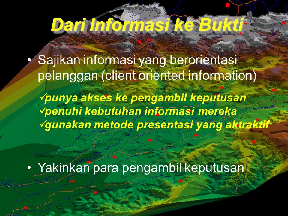 Dari Informasi ke Bukti