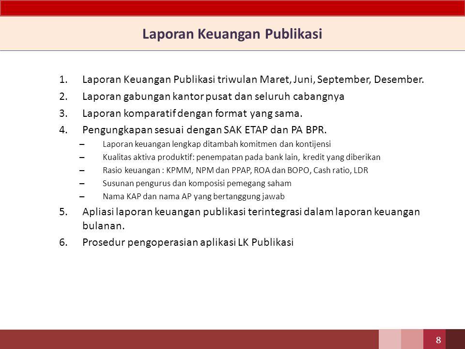 Laporan Keuangan Publikasi