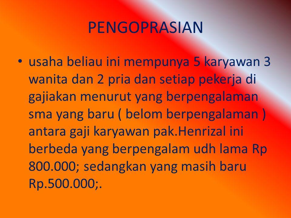 PENGOPRASIAN
