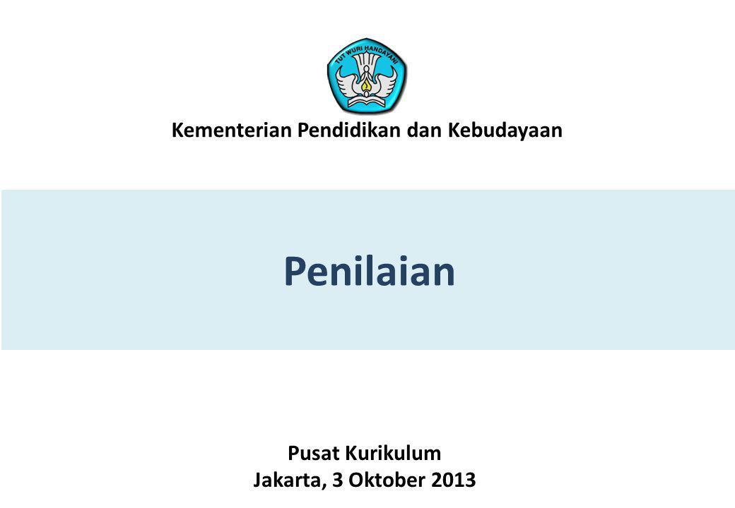Penilaian Kementerian Pendidikan dan Kebudayaan Pusat Kurikulum