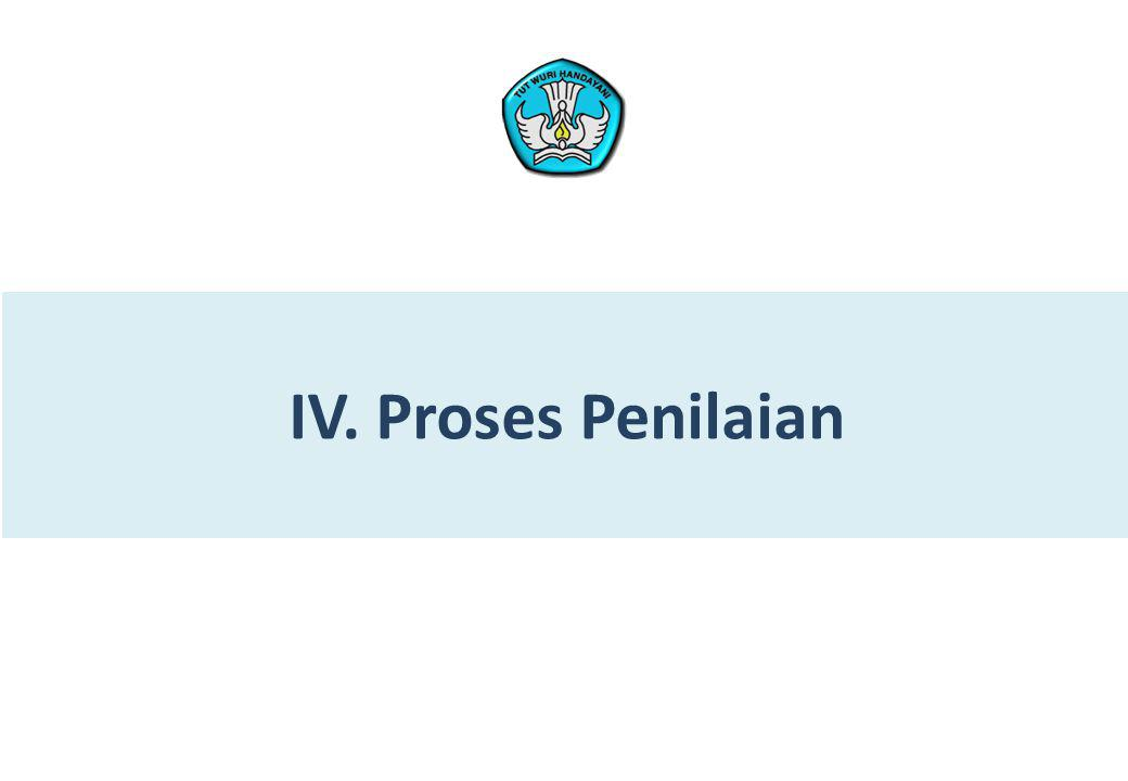 IV. Proses Penilaian