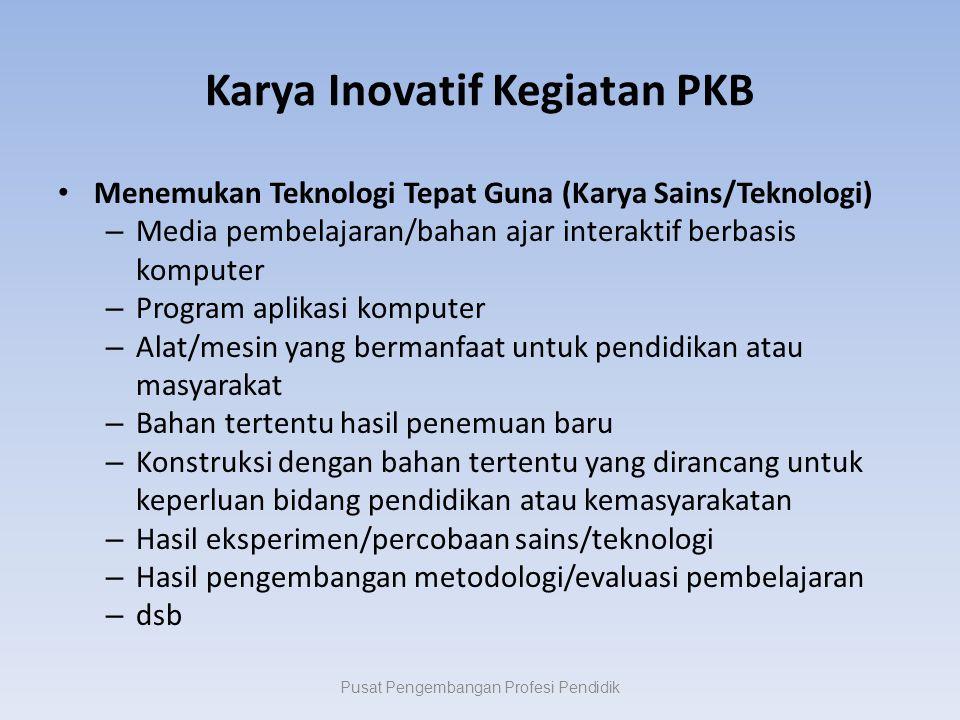 Karya Inovatif Kegiatan PKB