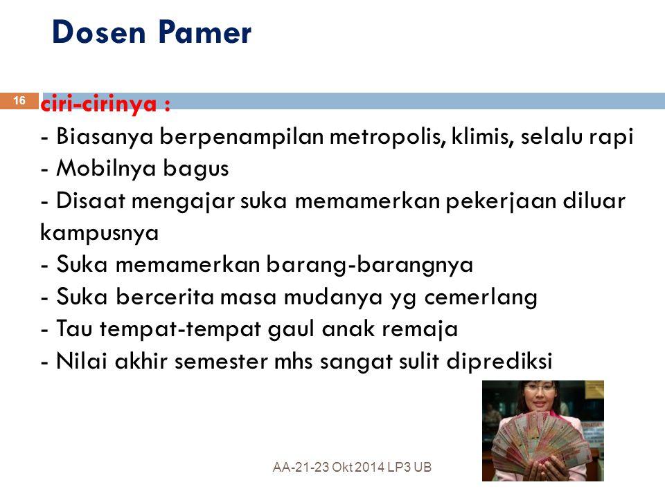 Dosen Pamer