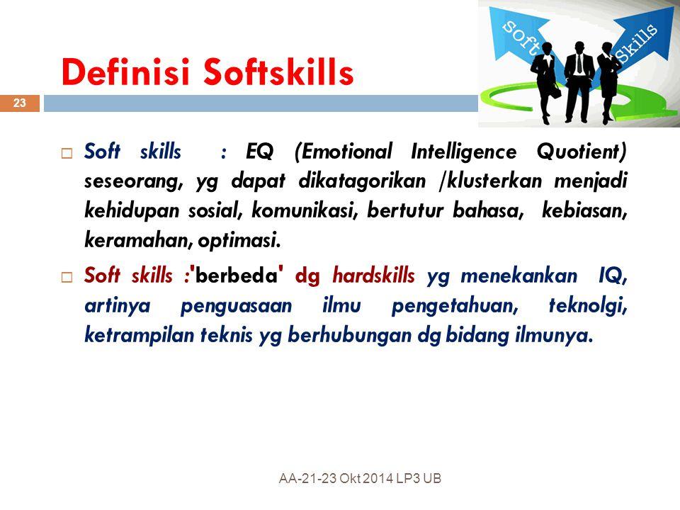 Definisi Softskills
