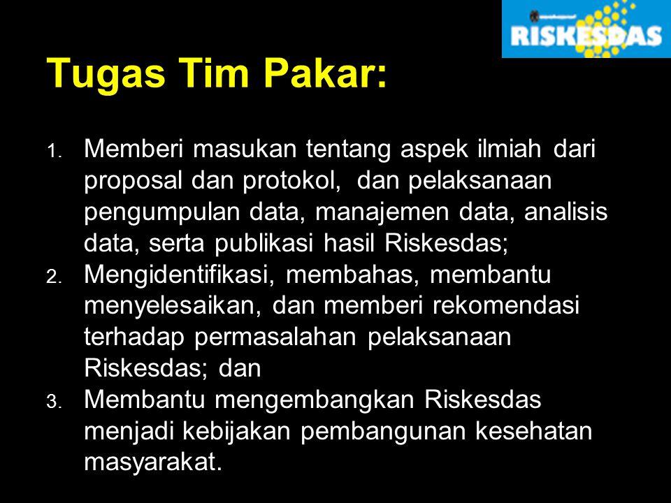 Tugas Tim Pakar: