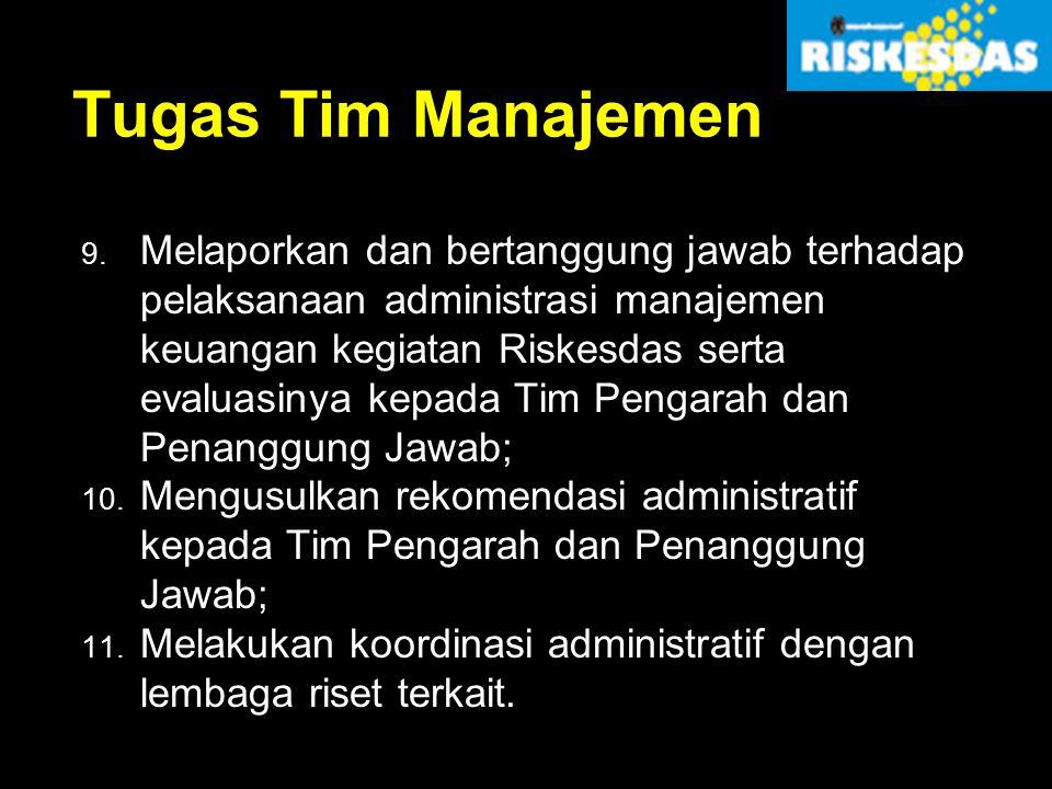 Tugas Tim Manajemen