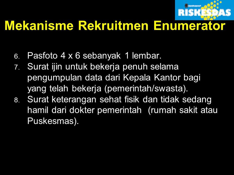 Mekanisme Rekruitmen Enumerator