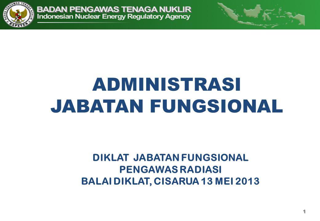 ADMINISTRASI JABATAN FUNGSIONAL