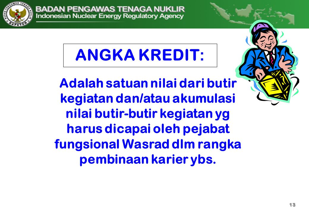 ANGKA KREDIT: