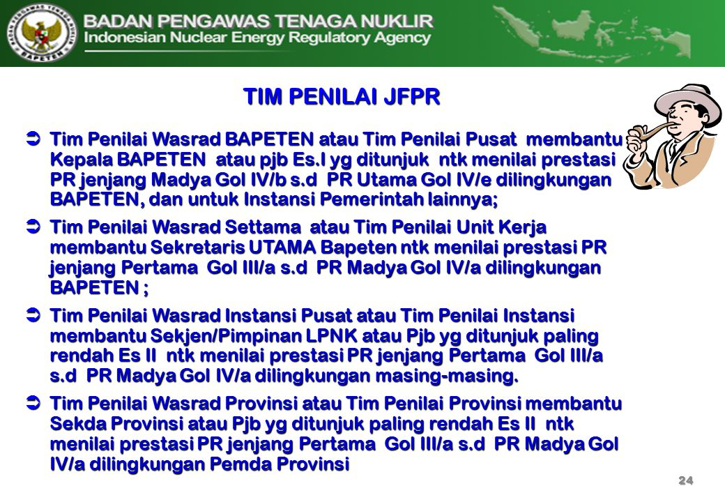 TIM PENILAI JFPR