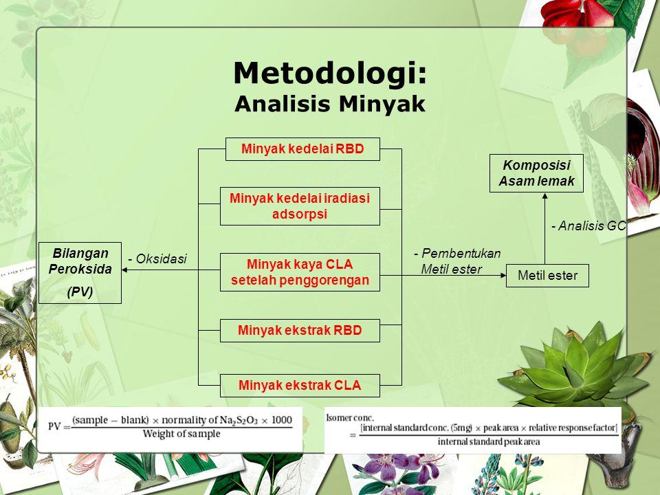 Metodologi: Analisis Minyak
