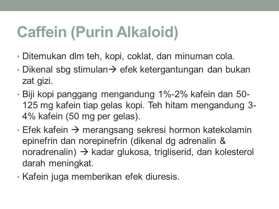Caffein (Purin Alkaloid)