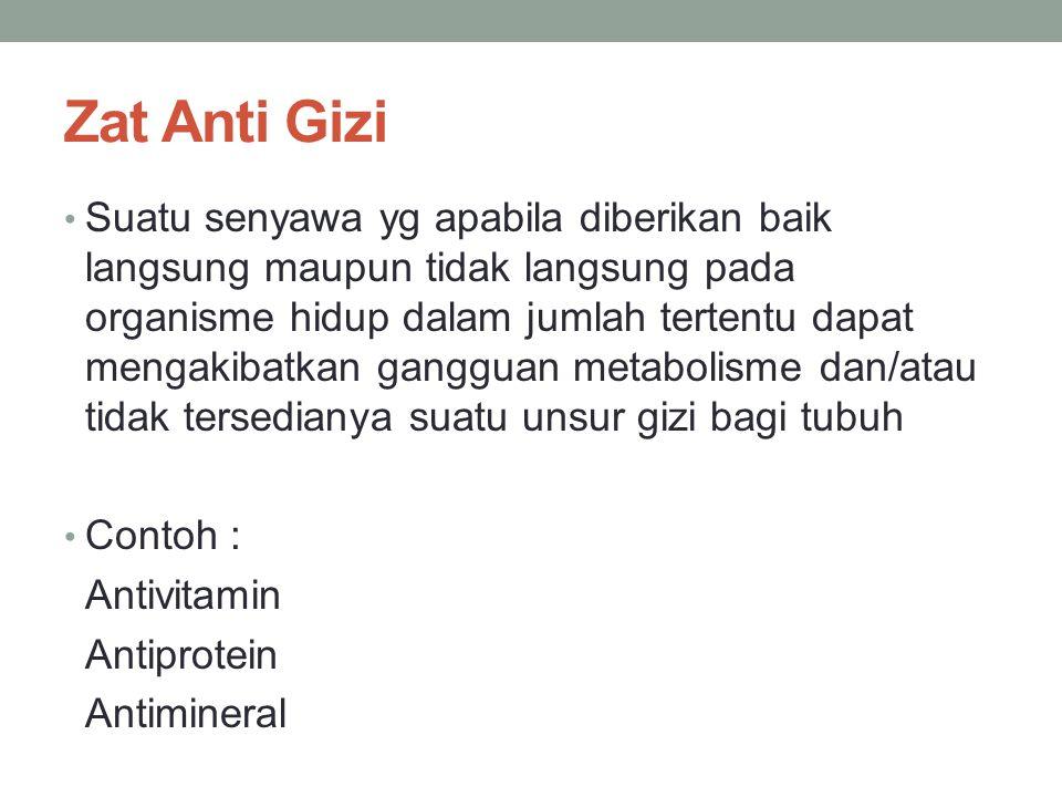 Zat Anti Gizi