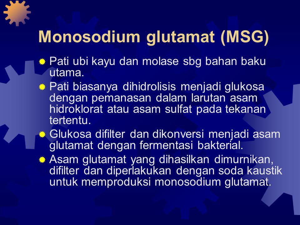 Monosodium glutamat (MSG)