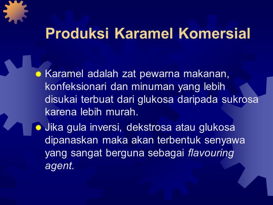 Produksi Karamel Komersial