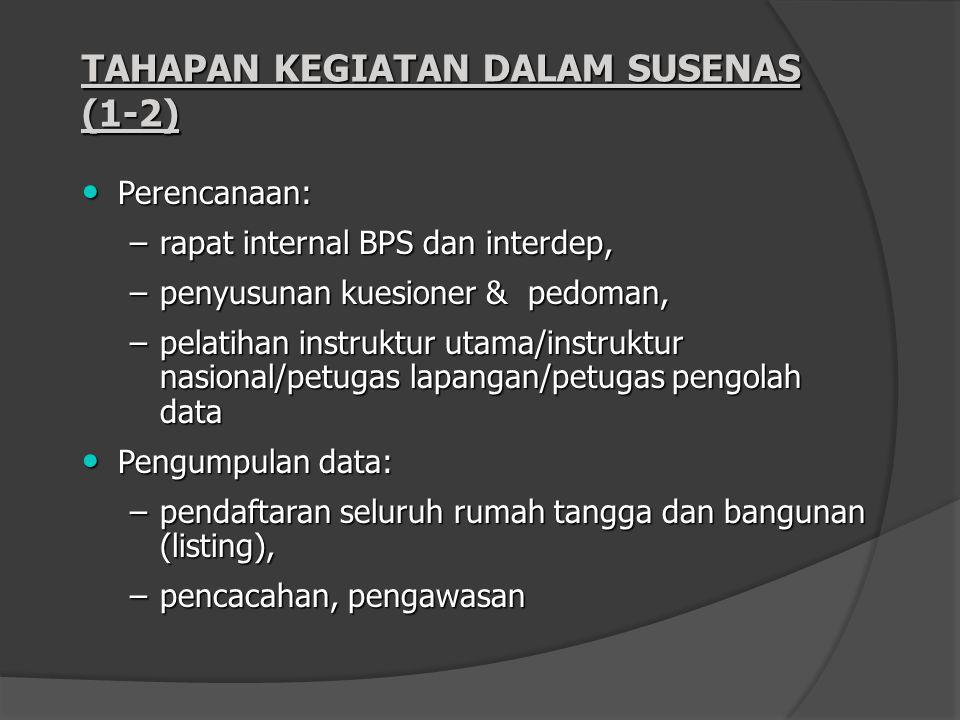 TAHAPAN KEGIATAN DALAM SUSENAS (1-2)