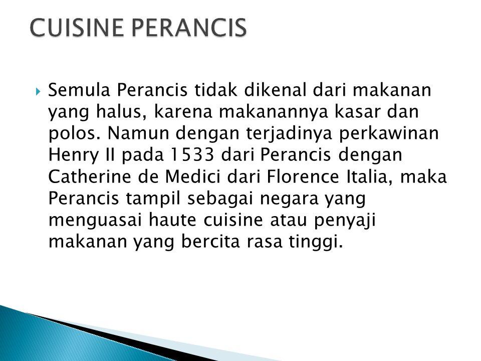 CUISINE PERANCIS