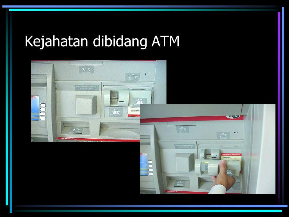 Kejahatan dibidang ATM