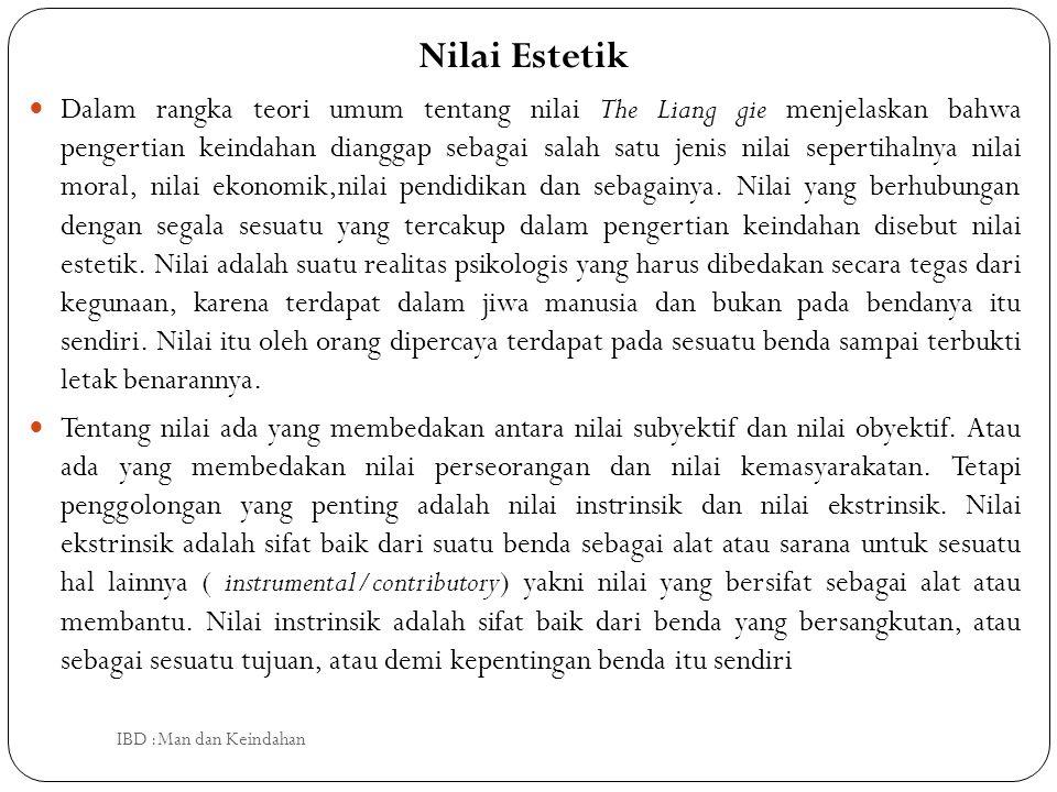 Nilai Estetik