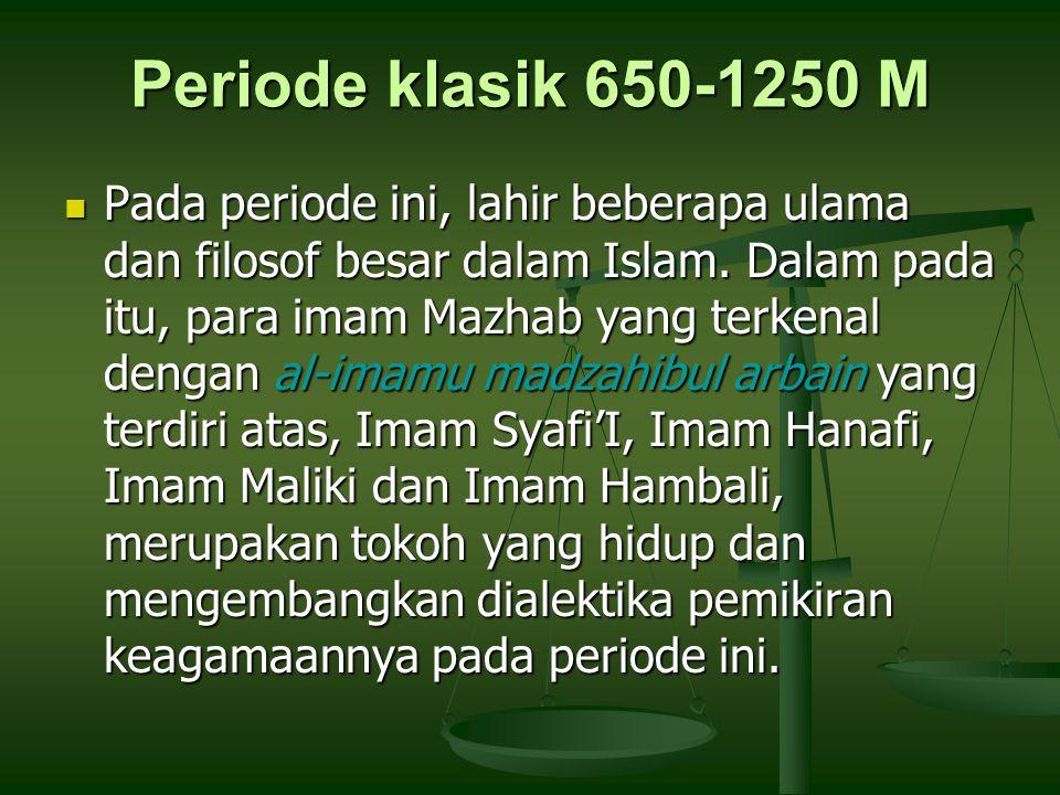 Periode klasik 650-1250 M
