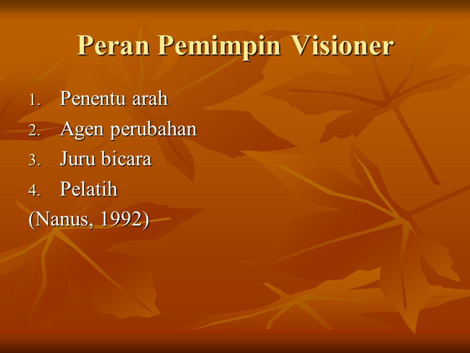 Peran Pemimpin Visioner