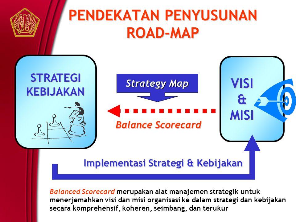PENDEKATAN PENYUSUNAN ROAD-MAP