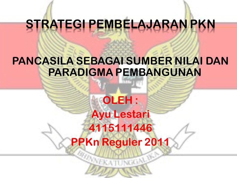 strategi pembelajaran pkN