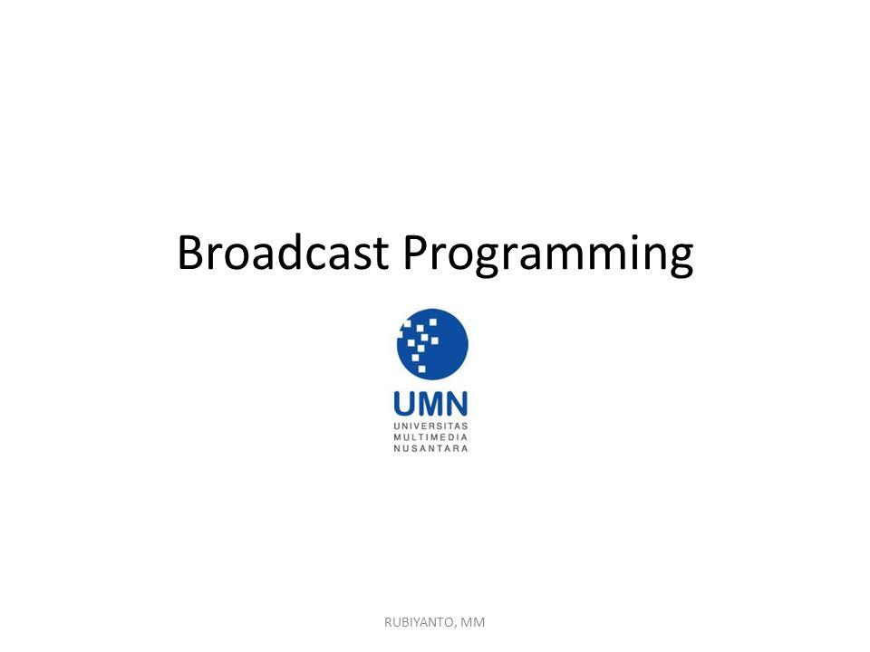 Broadcast Programming