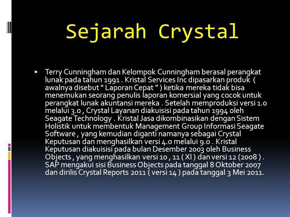 Sejarah Crystal