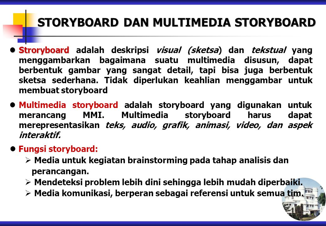 STORYBOARD DAN MULTIMEDIA STORYBOARD