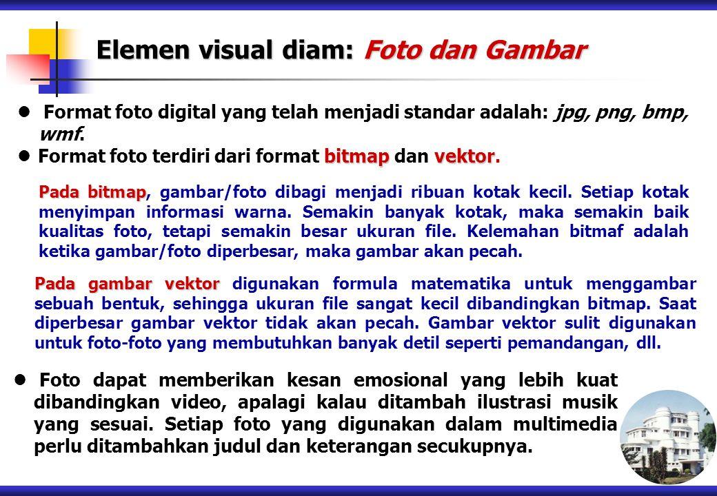 Elemen visual diam: Foto dan Gambar