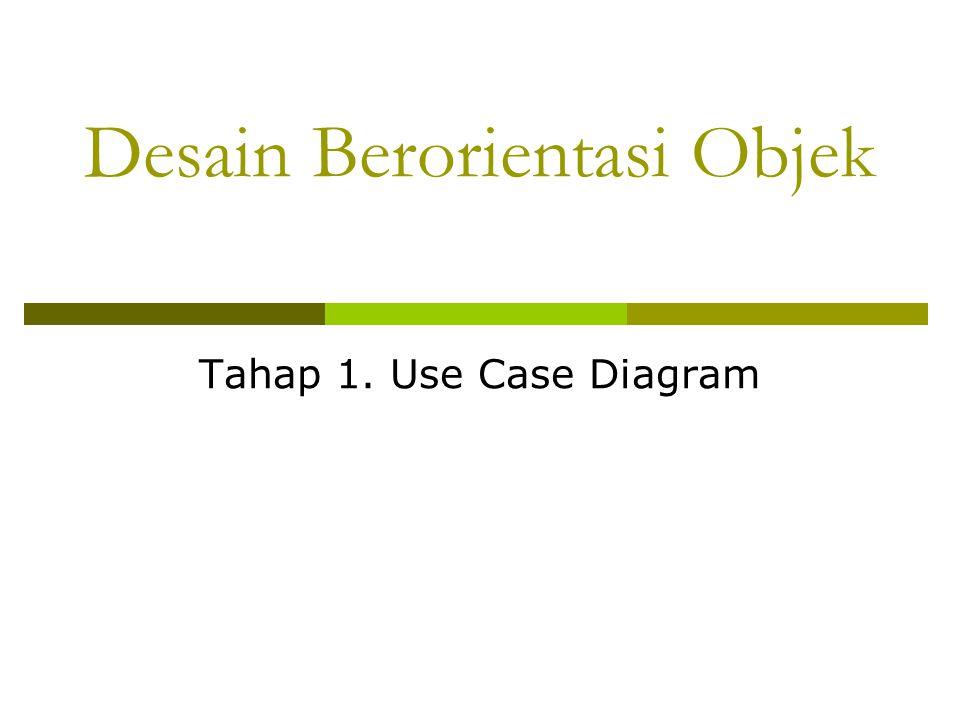 Desain Berorientasi Objek