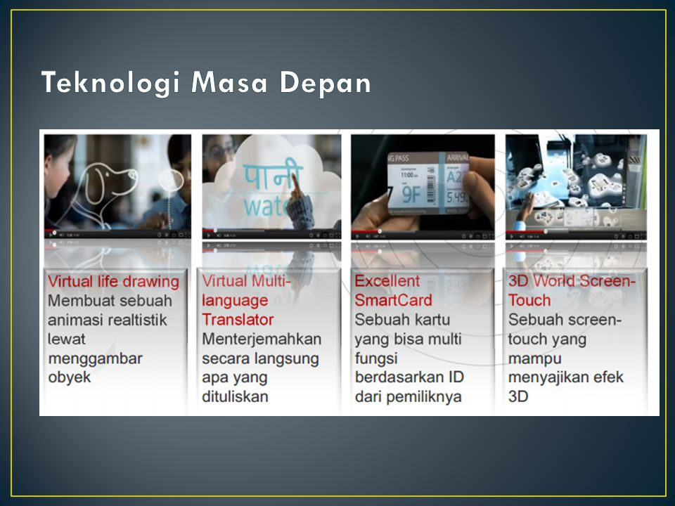 Teknologi Masa Depan