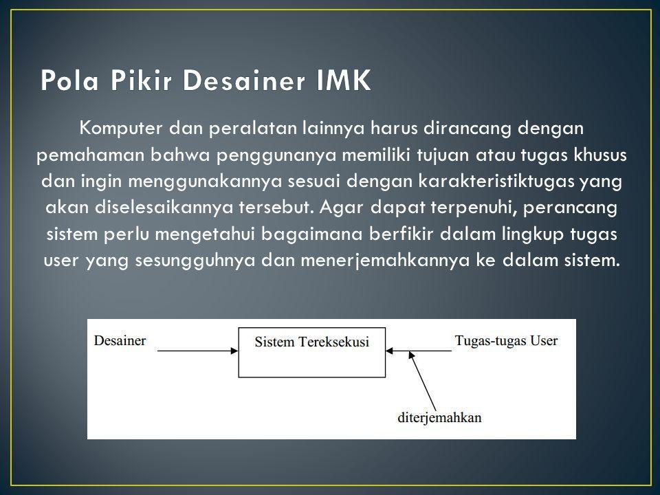 Pola Pikir Desainer IMK