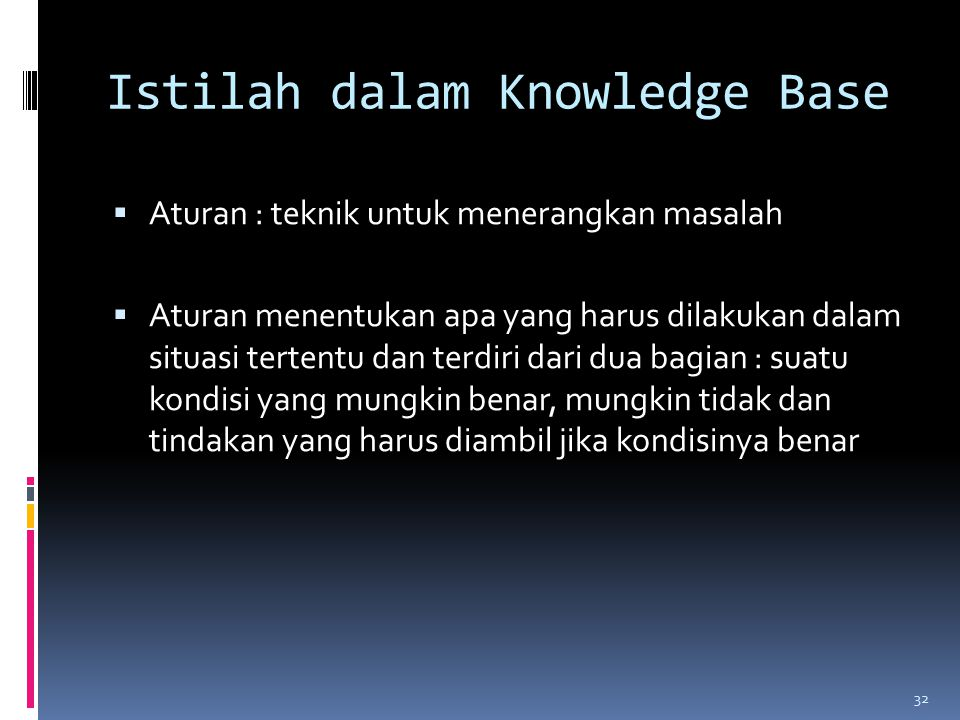 Istilah dalam Knowledge Base