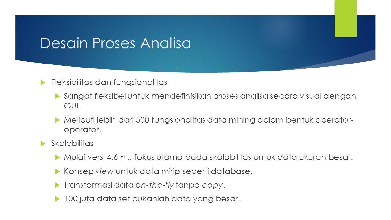 Desain Proses Analisa Fleksibilitas dan fungsionalitas
