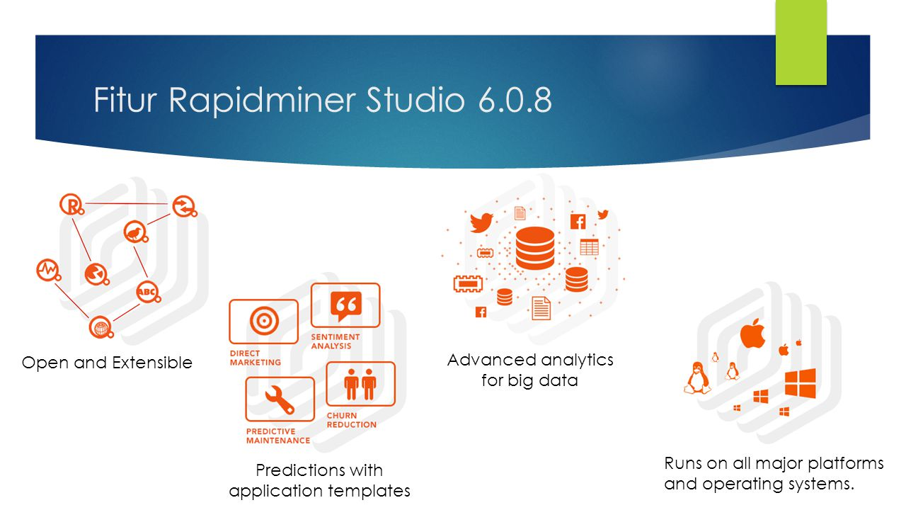 Fitur Rapidminer Studio 6.0.8