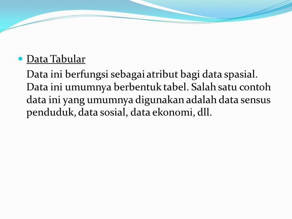 Data Tabular
