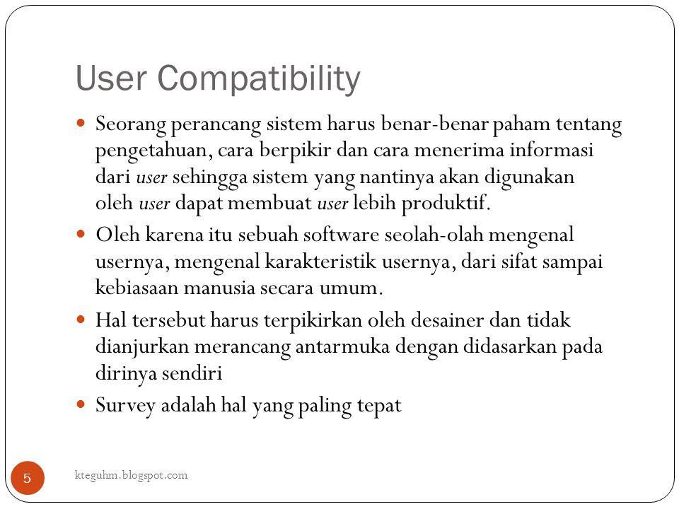 User Compatibility