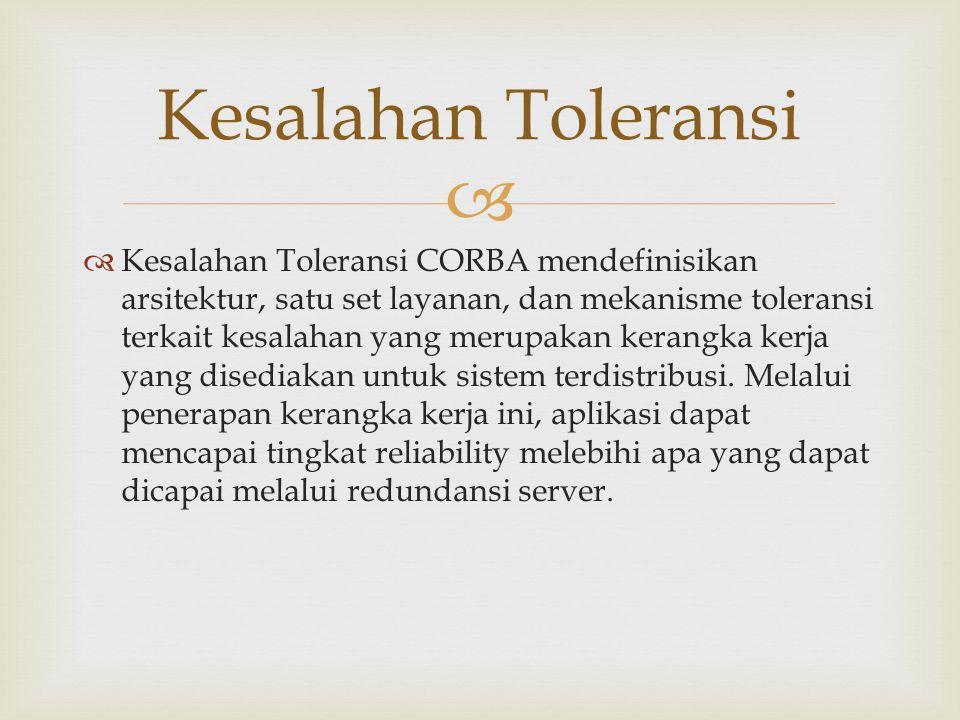 Kesalahan Toleransi