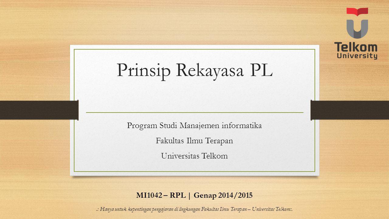 Program Studi Manajemen informatika