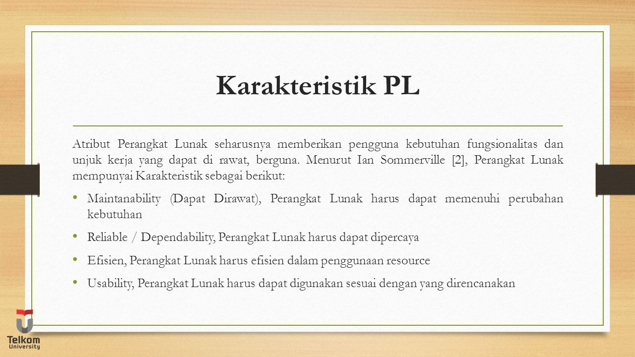 Karakteristik PL
